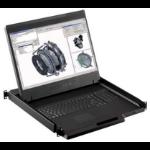 "Austin Hughes Electronics Ltd W119-UIP1602E_EU 19"" 1440 x 900pixels Black rack console"