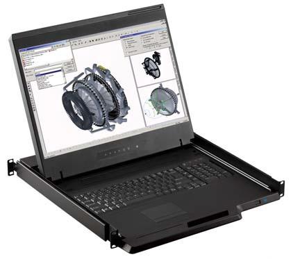 Austin Hughes Electronics Ltd W119-UIP1602E_EU rack console 48.3 cm (19