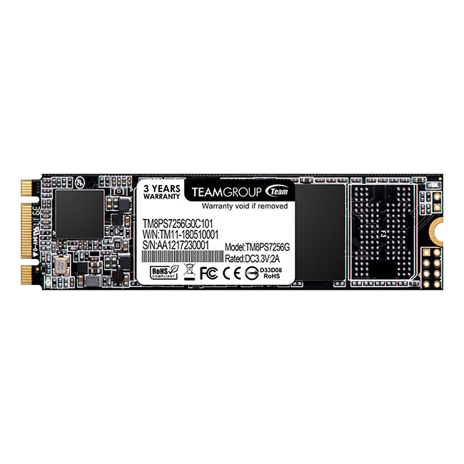 Team Group MS30 internal solid state drive M.2 256 GB Serial ATA III