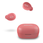 Philips TAT2205RD/00 headphones/headset In-ear USB Type-C Bluetooth Red
