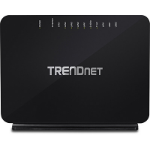 Trendnet TEW-816DRM wireless router Dual-band (2.4 GHz / 5 GHz) Gigabit Ethernet Black