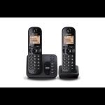 Panasonic KX-TGC222EB DECT Caller ID Black telephone