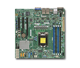 Supermicro X11SSH-LN4F server/workstation motherboard Micro ATX Intel® C236