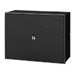 TOA BS-678BT loudspeaker 6 W Black Wired