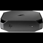 HP Z2 Mini G3 6ª generación de procesadores Intel® Core™ i7 i7-6700 16 GB DDR4-SDRAM 256 GB SSD Negro Mini PC Puesto de trabajo