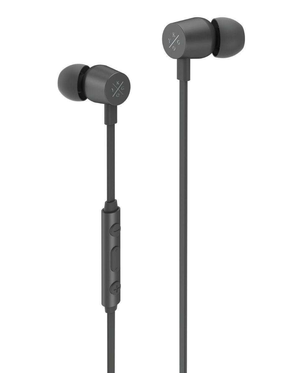 KygoLife E2/400 Earphones Cable InEar Bk