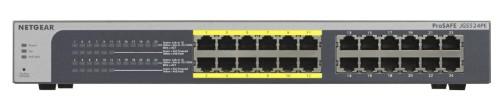 Netgear ProSafe Plus JGS524PE Managed L3 Gigabit Ethernet (10/100/1000) Black Power over Ethernet (PoE)