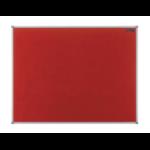 Nobo Basic Fixed bulletin board Red Felt