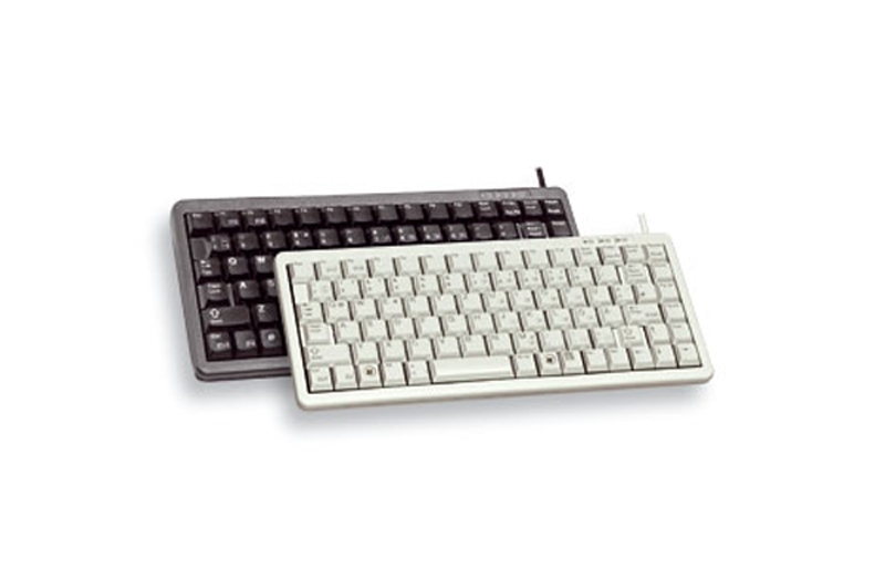 CHERRY Compact keyboard G84-4100 teclado USB + PS/2