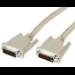Videk DVI-D/DVI-D, 10 m 10m DVI-D DVI-D Beige DVI cable