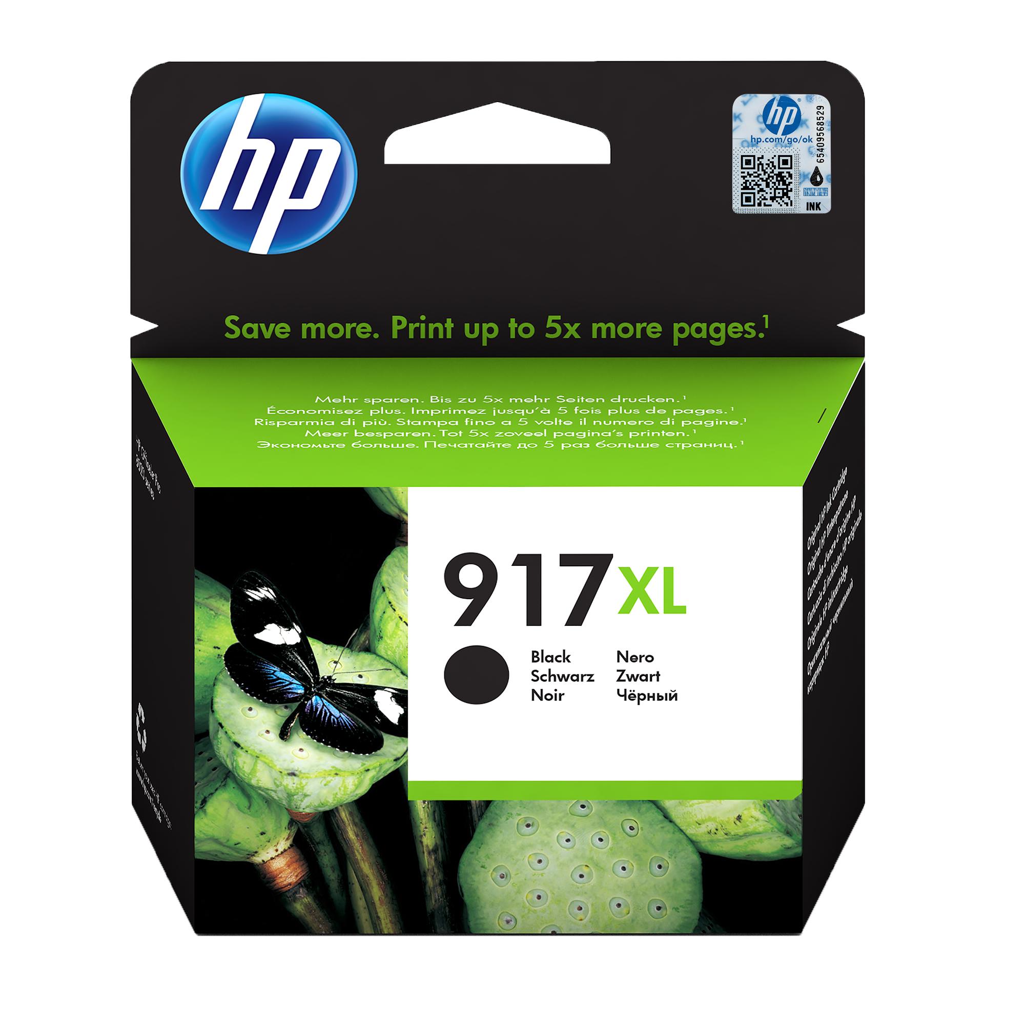 HP 917XL Origineel Zwart 1 stuk(s)