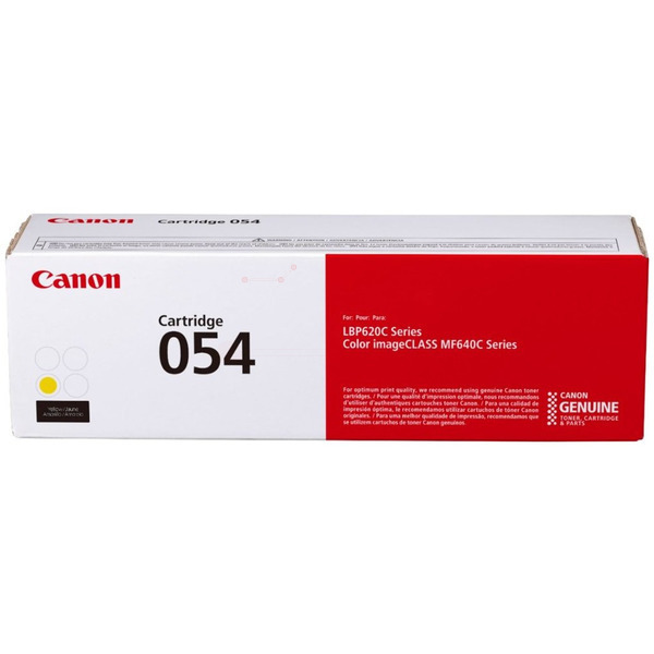 CANON 3021C002 (054) TONER YELLOW, 1.2K PAGES