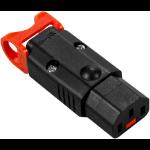 IEC LOCK PA130100BK electrical socket coupler 10 A 3