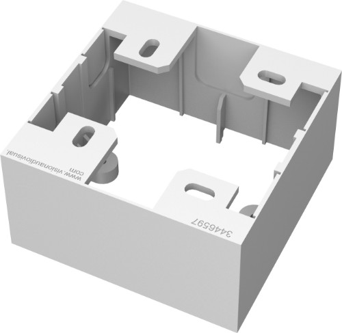 Vision TC3 BACKBOX1G electrical box White