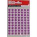 BLICK LABEL BAG 8MM PURP PK490 003052