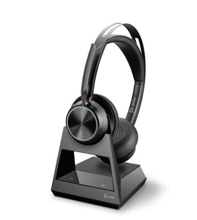 POLY Voyager Focus 2 Office Headset Head-band USB Type-A Bluetooth Charging stand Black