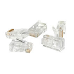 C2G RJ45 Cat5 Modular Plug for Round Stranded Cable 50pk