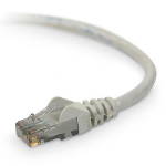 Belkin CAT6 Snagless Networking Cable 0.9m Cat6 U/UTP (UTP) Grey networking cable