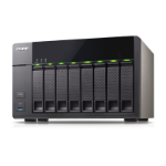 QNAP 32TB (Seagate NAS) TS-851 8-Bay NAS; 1GB RAM (max 8GB); Celeron? dual-core 2.41GHz CPU; burst up to
