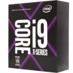 Intel Core i9-9960X processor 3.1 GHz Box 22 MB Smart Cache