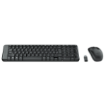 Logitech MK220 keyboard RF Wireless Black