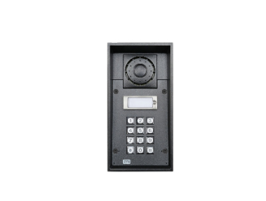 2N Telecommunications 9151101KW audio intercom system Black