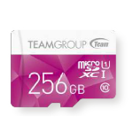 Team Group Color Card memory card 256 GB MicroSDXC UHS-I