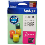 BROTHER LC231 INK CARTRIDGE MAGENTA