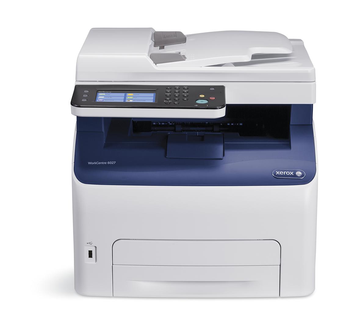 WorkCentre 6027V_NI - Color LED Multifunction Printer - LED - USB / Ethernet/ Wi-Fi