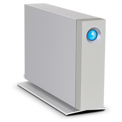 LaCie d2 Thunderbolt 2 3000GB Silver external hard drive