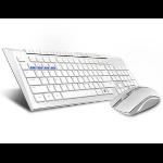 Rapoo 8200M keyboard RF Wireless White