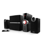 Edifier C2X 2.1channels 53W Black speaker set