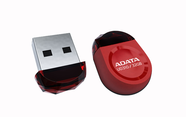 ADATA 8GB UD310 8GB USB 2.0 USB Type-A connector Red USB flash drive