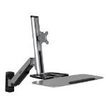 Tripp Lite WWSS1332W WorkWise Wall-Mounted Workstation, Single Display