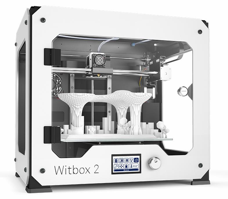 bq WitBox 2 Fused Filament Fabrication (FFF) 3D printer