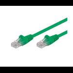 Microconnect CAT5e UTP 3m 3m Cat5e U/UTP (UTP) Green networking cable