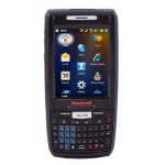 "Honeywell Dolphin 7800 3.5"" 640 x 480pixels Touchscreen 324g Black handheld mobile computer"