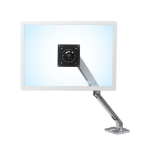 "Ergotron MXV Desk Monitor Arm 86.4 cm (34"") Clamp Aluminum"