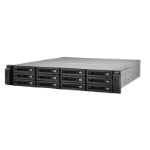 QNAP TS-1279U-RP Rack (2U) Black storage server
