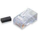 Black Box FM860-50PAK RJ-45 Transparent wire connector