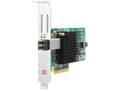 Hewlett Packard Enterprise 81E 8Gb 1-port PCIe Fibre Channel Host Bus Adapter