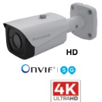 HONEYWELL IP BULLET CAM,8MP,TDN,4MM,IR,H.265/H.264,PoE,IP66