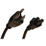 """Tripp Lite 3ft, NEMA 5-15P - IEC-320-C5 power cable Black 35.8"""" (0.91 m) C5 coupler"""