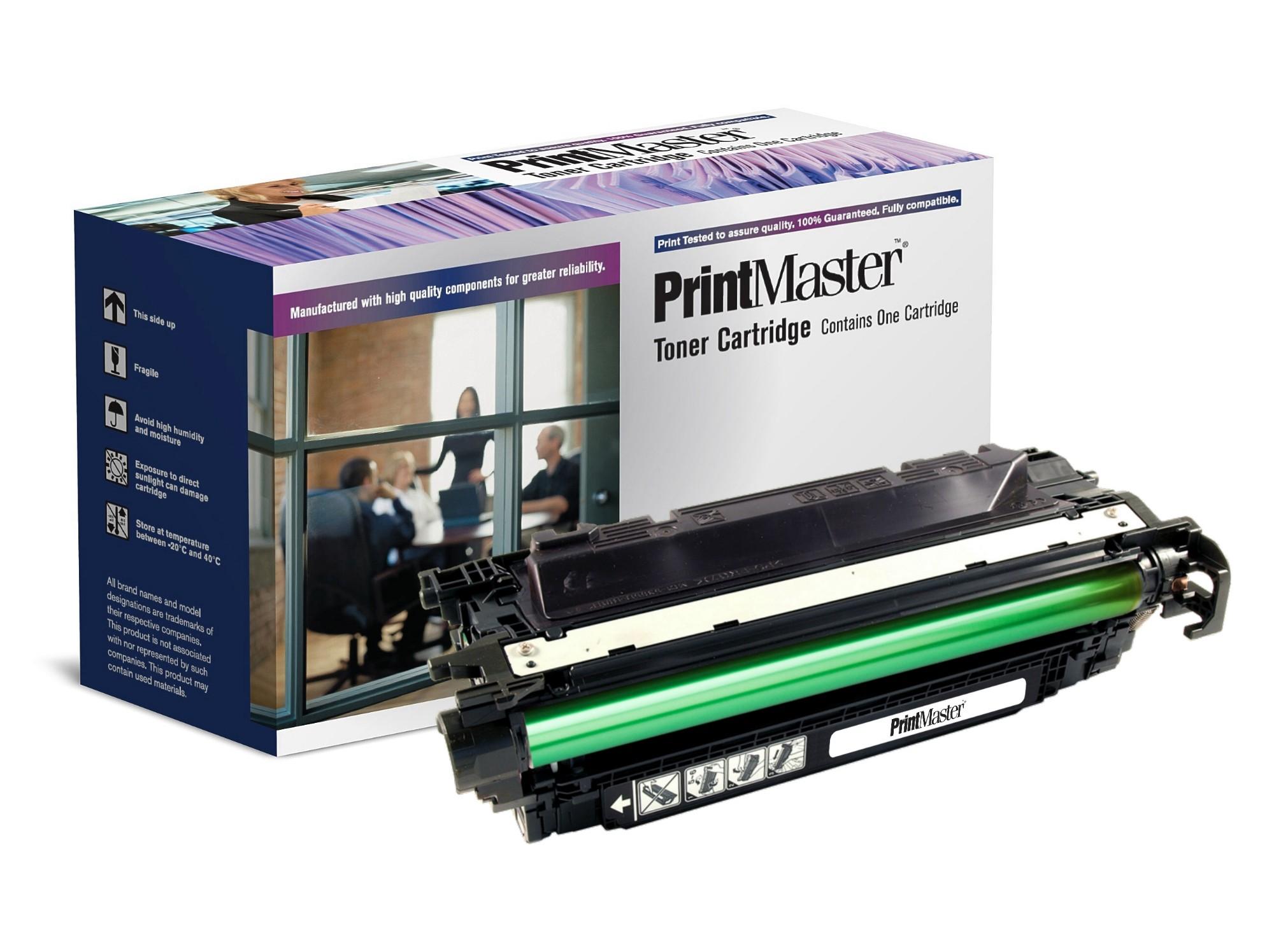 PrintMaster Black Toner Cartridge for HP Color LaserJet CP 4525A
