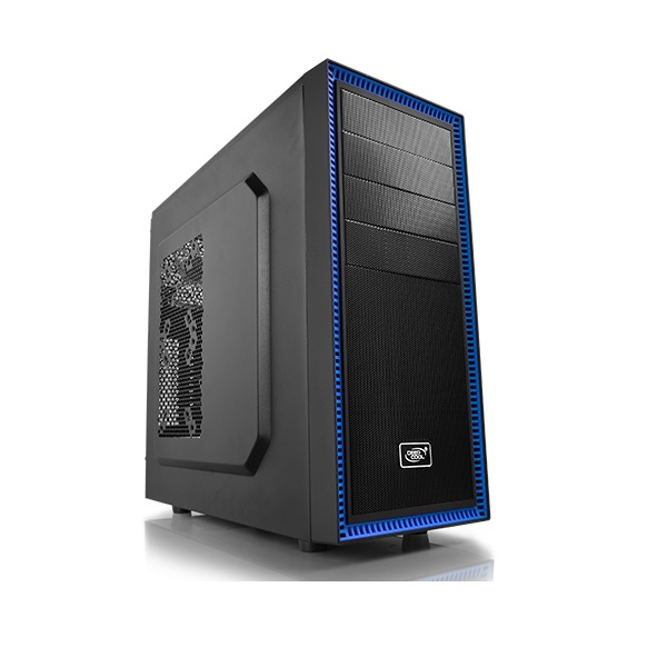Deepcool Black Tesseract BF Mid Tower Chassis