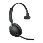 Jabra Evolve2 65, MS Mono Headset Head-band Black
