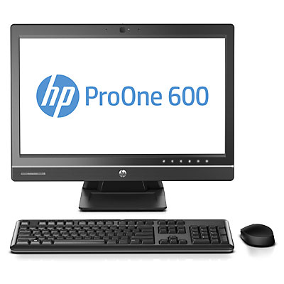 """HP ProOne 600 G1 3GHz i5-4590S 21.5"""" 1920 x 1080pixels Black, Silver All-in-One PC"""