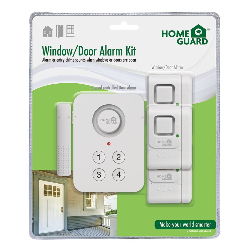 HOMEGUARD HGWAK610 DOOR/WINDOW SENSOR WIRELESS WHITE