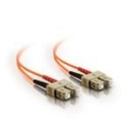 C2G 5m SC/SC LSZH Duplex 50/125 Multimode Fibre Patch Cable fibre optic cable Orange