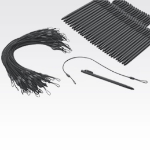 Zebra STYLUS-00006-50R stylus pen Black
